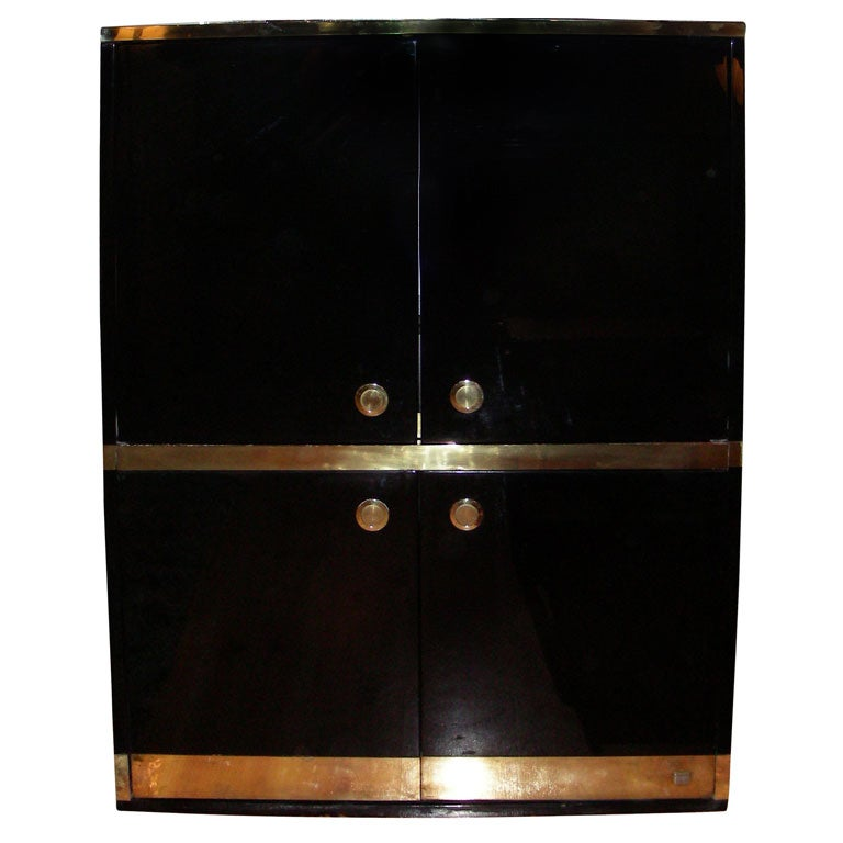 1970s Tv Cabinet By Jean Claude Mahey At 1stdibs