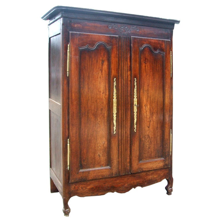 french country style armoire at 1stdibs. Black Bedroom Furniture Sets. Home Design Ideas