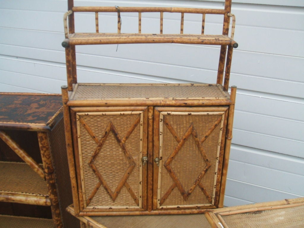 antique bamboo furniture at 1stdibs