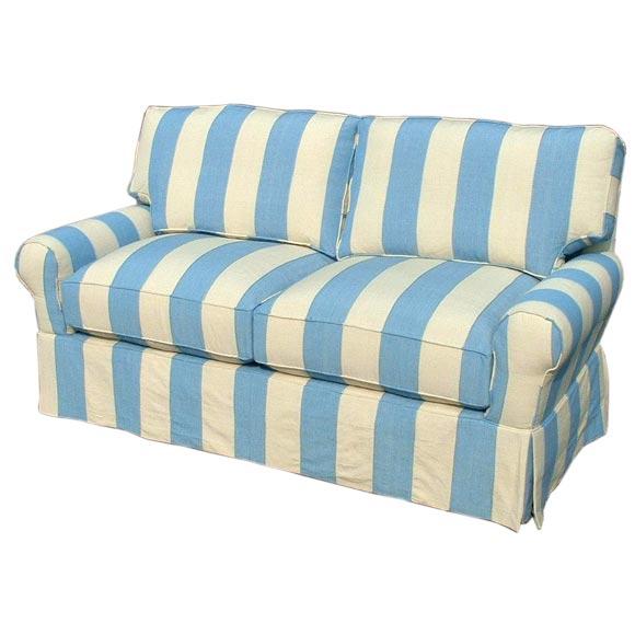 CR Laine Blue Striped Sofa at 1stdibs : chrisfor1stdibs028 from www.1stdibs.com size 580 x 580 jpeg 36kB