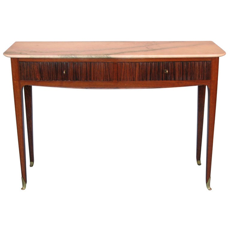 Modernist Console Table Attributed to Paolo Buffa