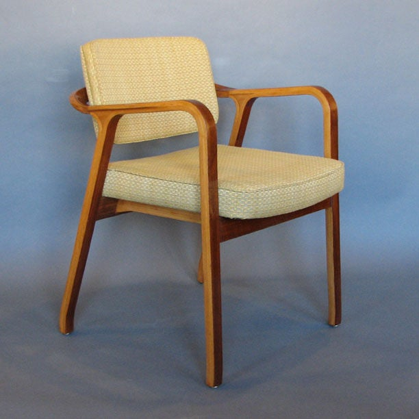 Modernist Armchairs Designed By Philippe Neerman 2