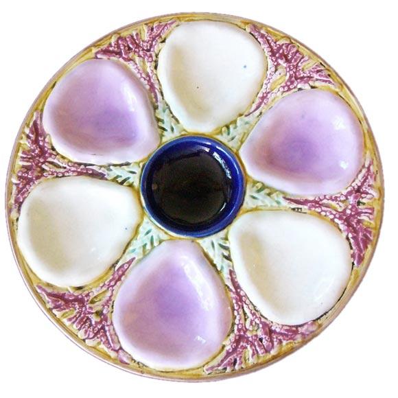 Majolica Oyster Plates At 1stdibs