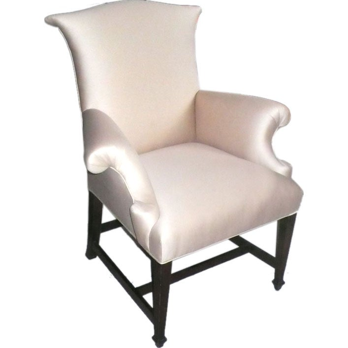 Early Wing Back Chair At 1stdibs
