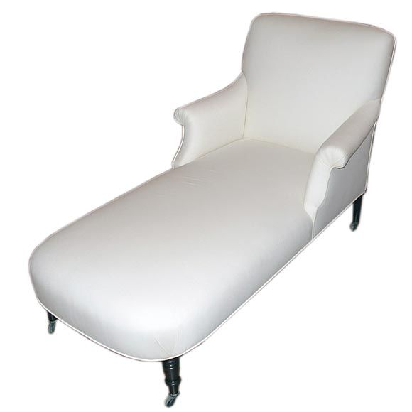 Napol on iii chaise lounge at 1stdibs for Chaise napoleon 3