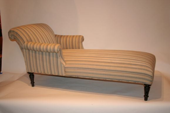 French 19th century chaise lounge at 1stdibs for Art nouveau chaise lounge