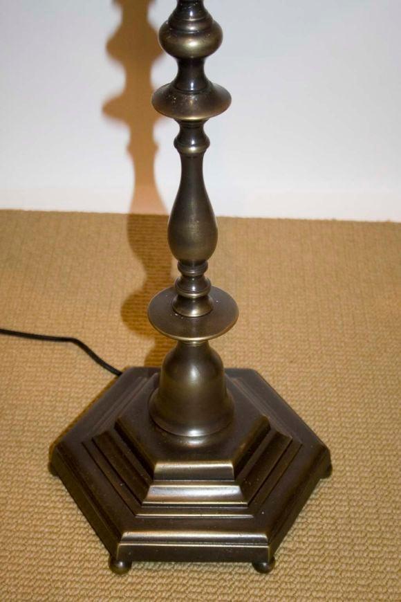 oil rubbed bronze floor lamp at 1stdibs. Black Bedroom Furniture Sets. Home Design Ideas