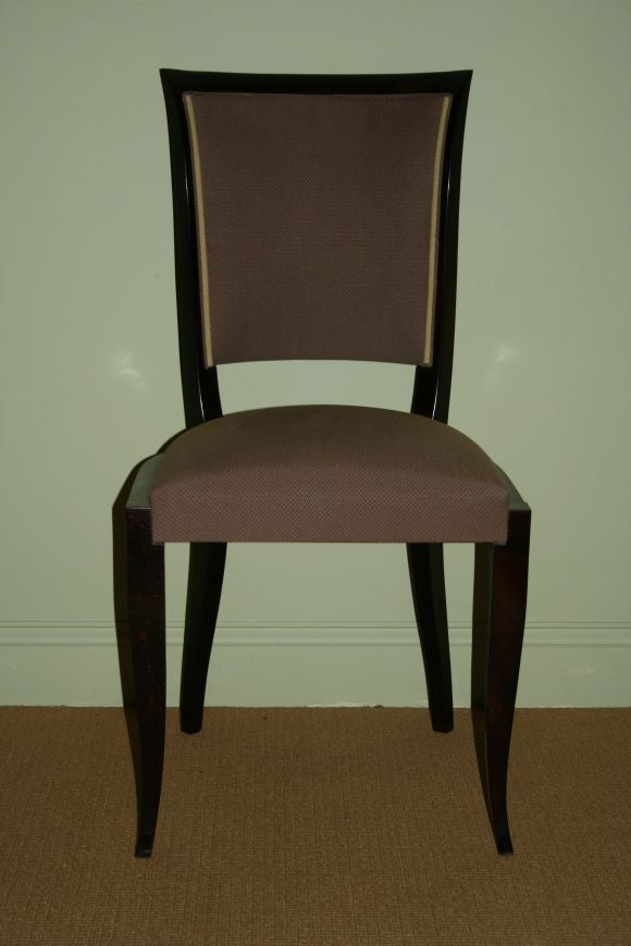 Set of six french dining chairs for sale at stdibs
