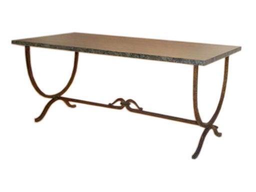 Spanish Gilt Iron Coffee Table At 1stdibs