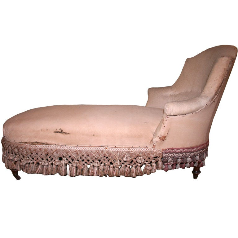 Napoleon iii chaise longues at 1stdibs for Chaise napoleon