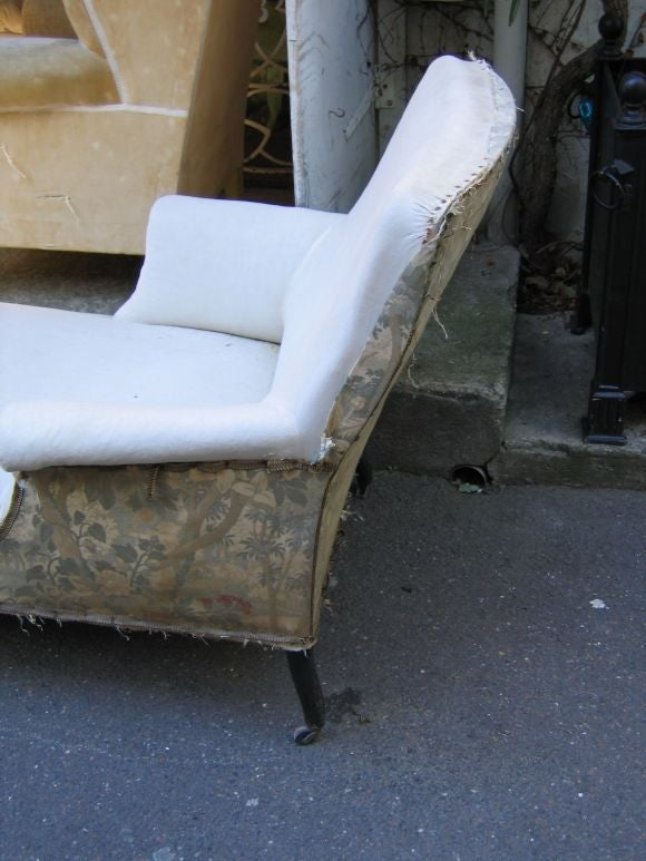 19th c chaises longues at 1stdibs for Chaises longues tressees