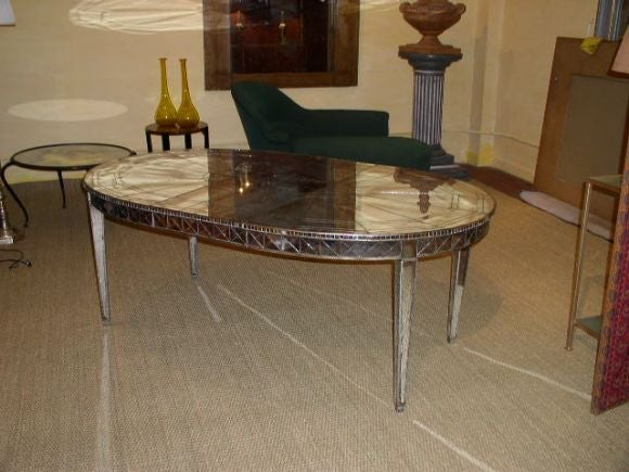 this mirrored extension dining table is no longer available