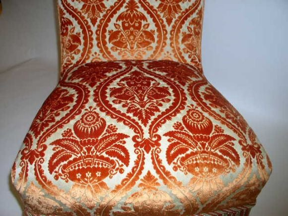 French 19th Century Slipper Chair For Sale 3