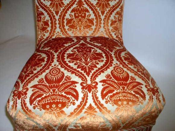 French 19th Century Slipper Chair 7