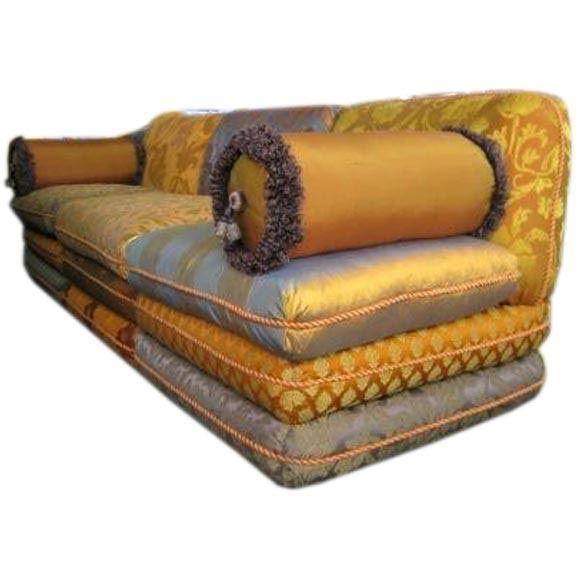 Luxurious Turkish Sofa Made Exclusively For Stroheim Romann