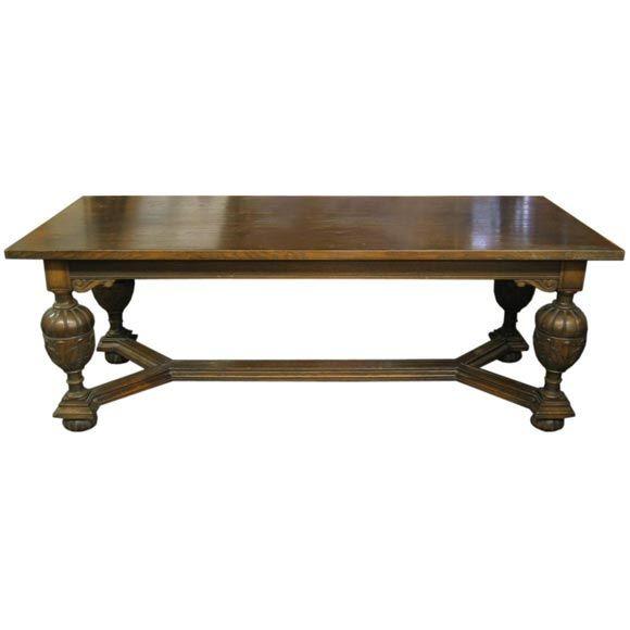 Ornate Carved Center Table At 1stdibs