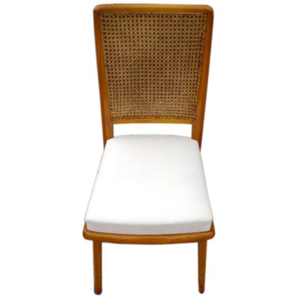 eight royere cane back dining chairs at 1stdibs