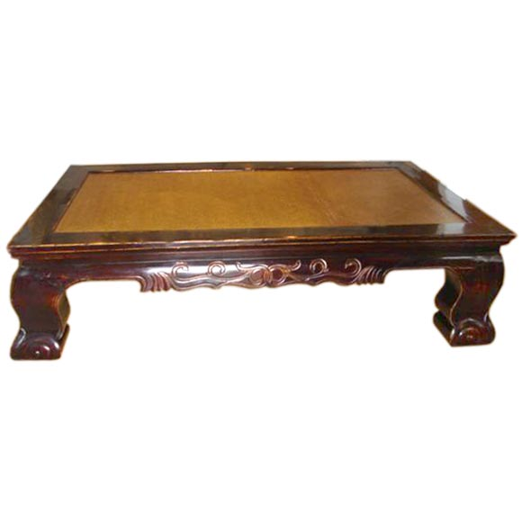 Large Antique Chinese Coffee Table At 1stdibs