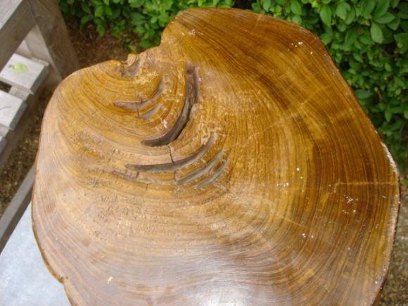 Teakwood Carved Bali Stool At 1stdibs