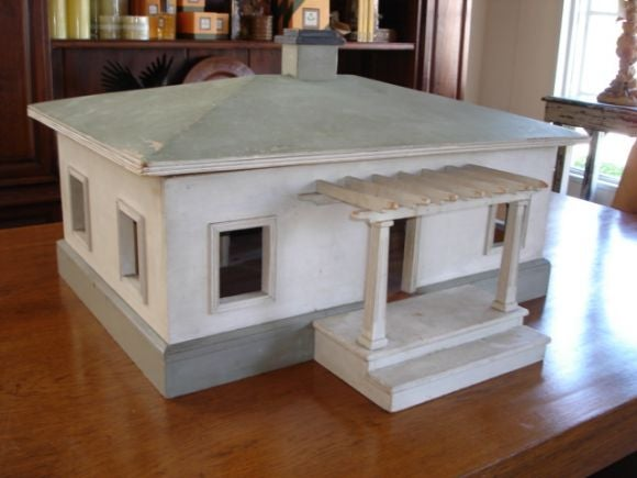 Vintage Scale Model Of House At 1stdibs: scale model furniture