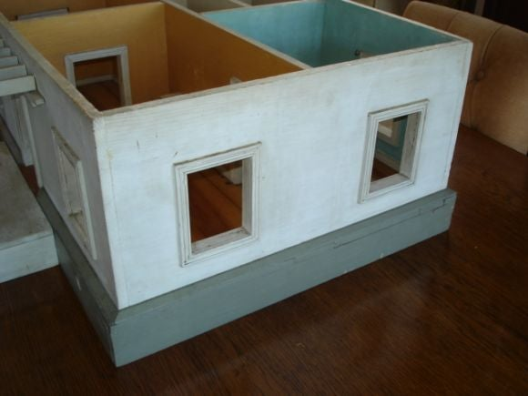 Vintage Scale Model Of House Image 3