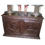 French Carved Coffer