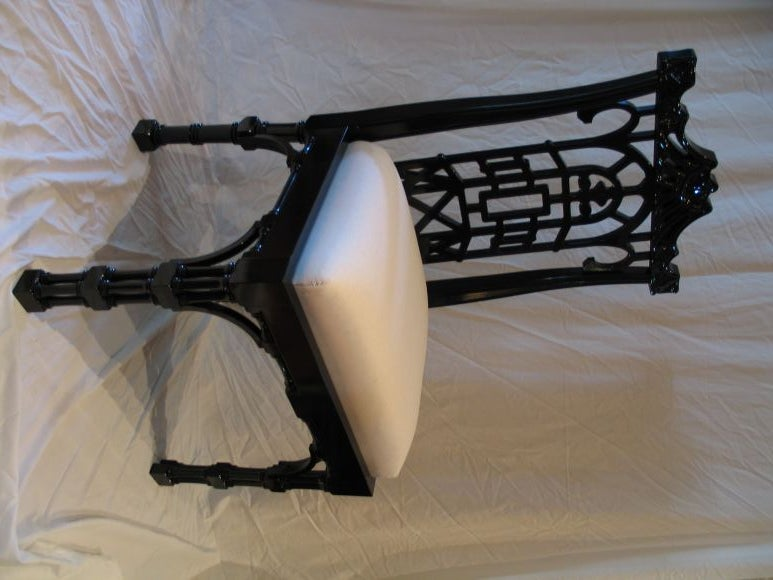 High Quality Reproduction Chinese Chippendale Dining Chair 2