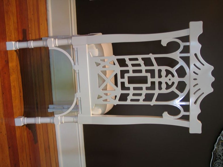 Reproduction Chinese Chippendale Dining Chair 4