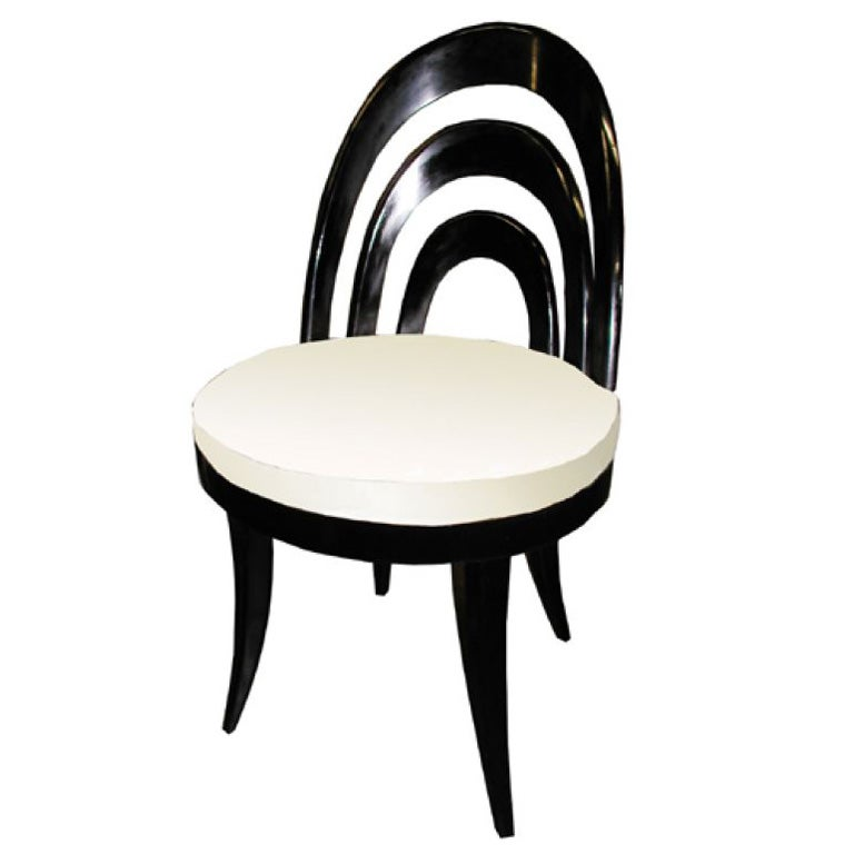 Set Of 4 Harvey Probber Dining Chairs At 1stdibs