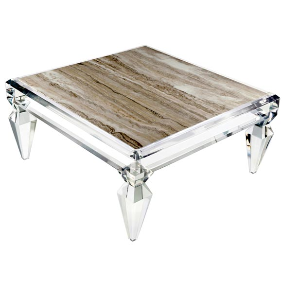 Exceptionnel Avenire Lucite Coffee Table By Craig Van Den Brulle