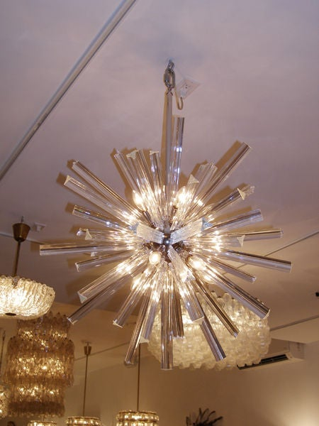 Crystal Snowflake Chandelier For Sale At 1stdibs