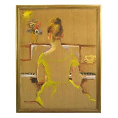Oil Painting- At the Piano