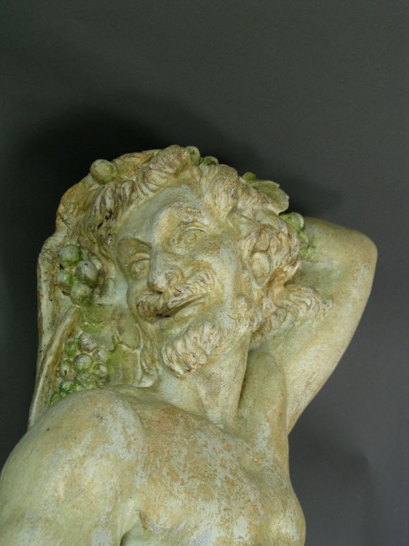 Neoclassical Plaster Wall Figures, circa 1920s For Sale 1