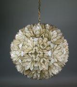 Fantastic capiz shell chandelier