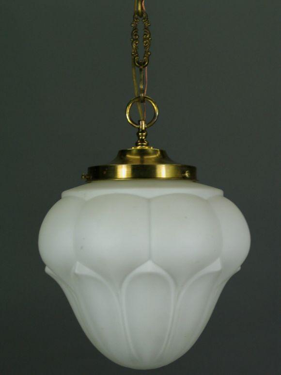 Artichoke Shaped Pendant In Good Condition For Sale In Douglas Manor, NY