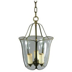 Bent and Curved Glass Lanterns, circa 1940s