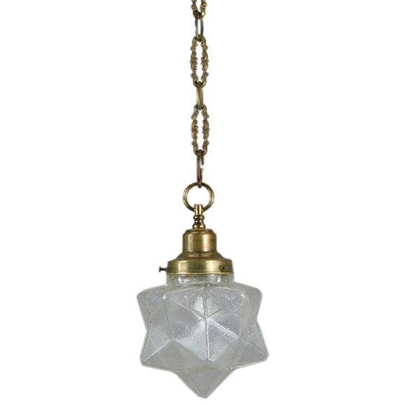 Cm Seeded Glass Pendant Lights