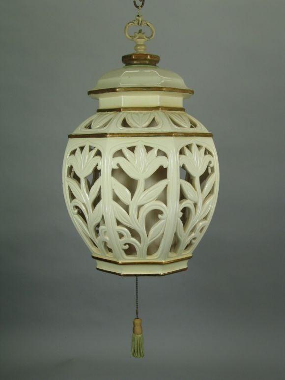Large Ceramic Lantern 2