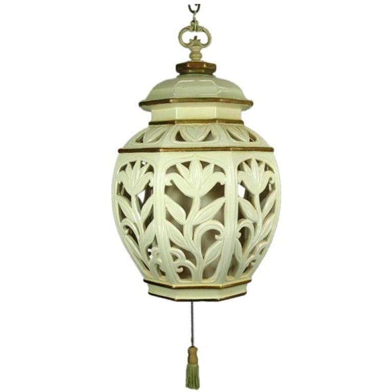 Large Ceramic Lantern 1