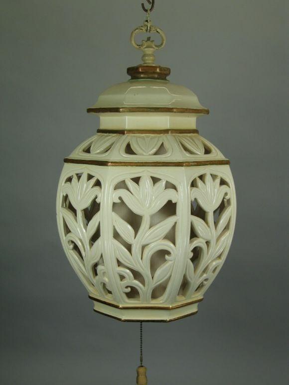 Large Ceramic Lantern 3