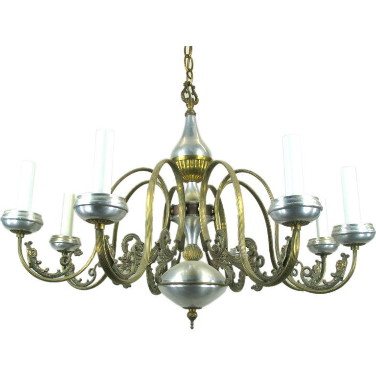 28 chandelier on sale on sale intricate brass and aluminum