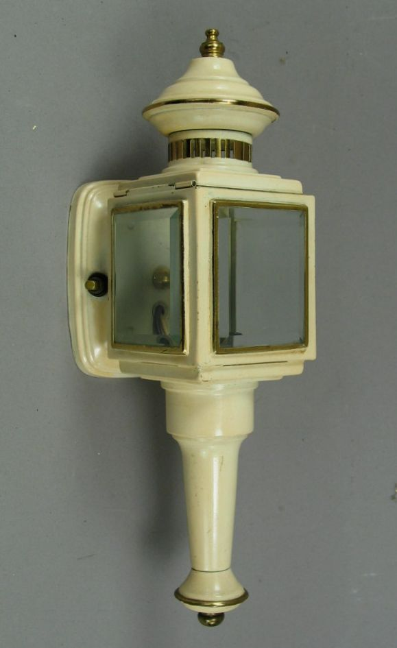 #2-862, carriage wall sconces with beveled glass.