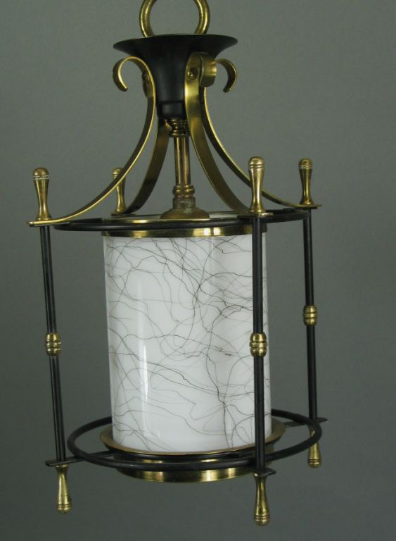 Mid-20th Century  Small  Mid Century Lanterns, ( 3available) For Sale