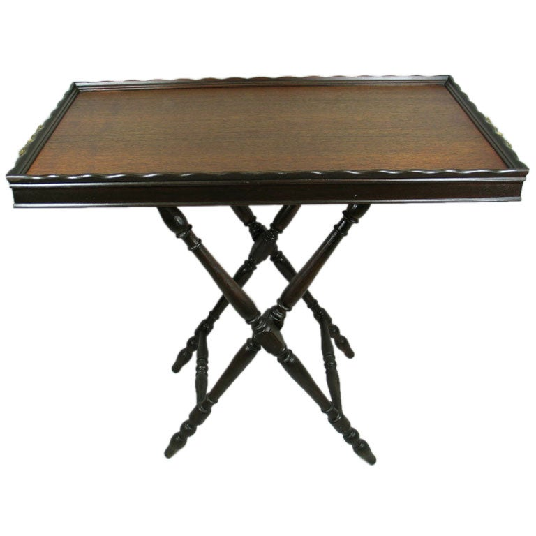 Folding Tray Table At 1stdibs