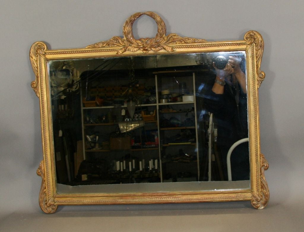 Neoclasical Italian Mirror In Good Condition For Sale In Douglas Manor, NY
