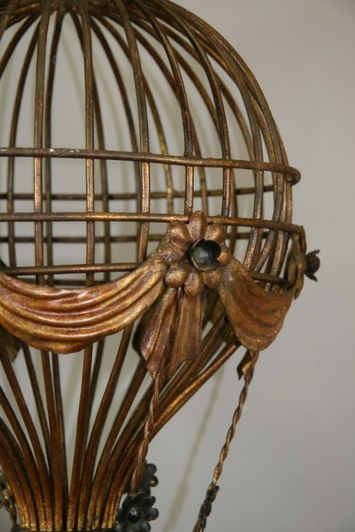 Circa 1950 S Italian Hot Air Balloon Chandelier At 1stdibs
