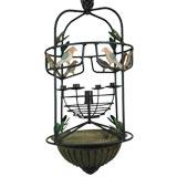 Circa 1940's Bird cage candle lantern