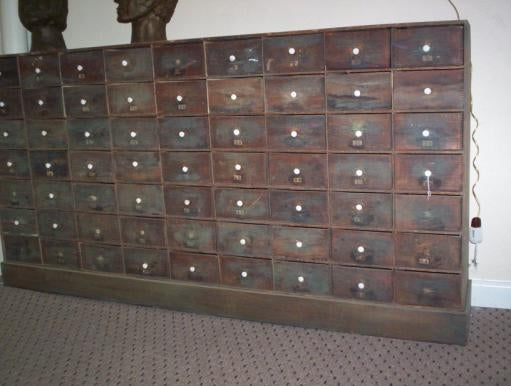 kitchen cabinets wood large 63 drawer chest at 1stdibs 21459