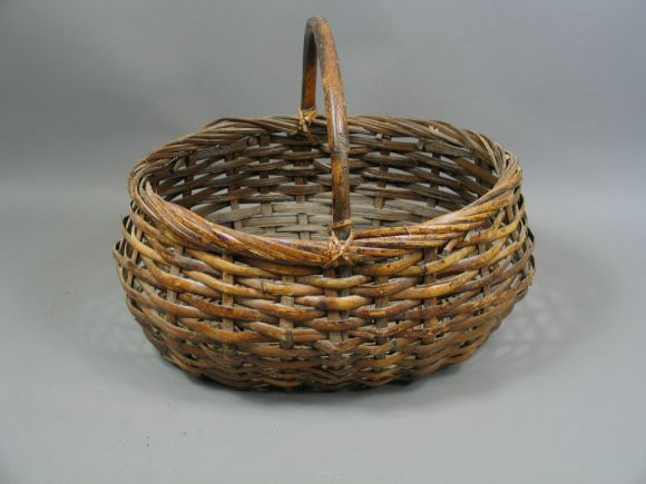 How To Hand Weave A Basket : Hand woven basket at stdibs