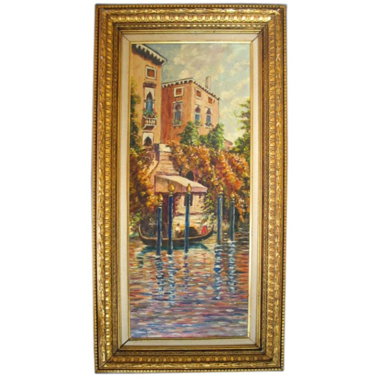 American Canel Oil Paintings